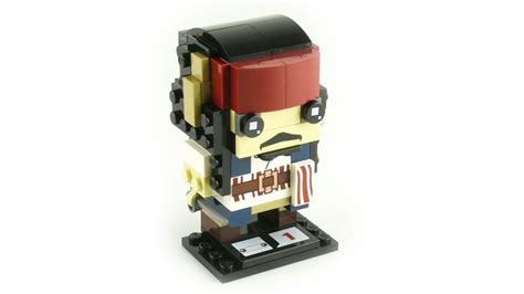 Lego 41593 Brickheadz Sparrow lego brickheadz 41593 captain sparrow