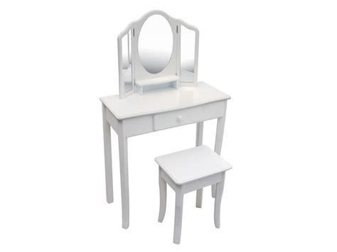 White Vanity And Chair Set Classic White Vanity Stool Set Free Delivery