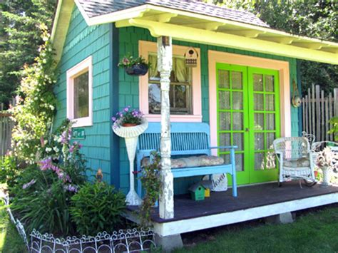 Garden Shed Decor Ideas Give Your Backyard An Upgrade With These Outdoor Sheds Hgtv S Decorating Design Hgtv