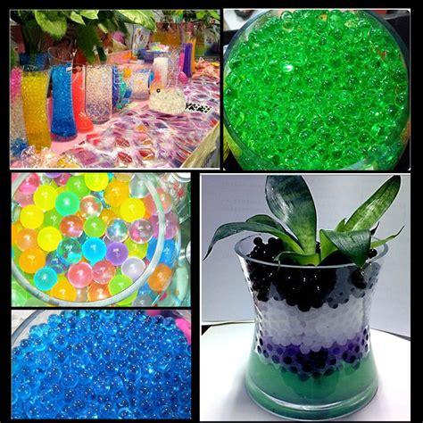 Grow Magic Jelly Balls 10000pcspack 10000pcs bag home decor pearl shaped soil water bio gel for flower weeding