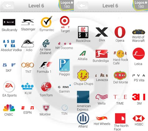 logo quiz level 6 logo 44 logo quiz l 246 sungen level 6 giga