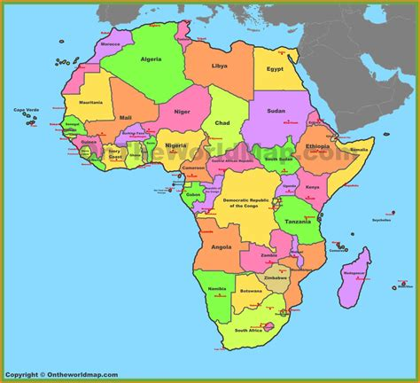 africa map 2017 4 africa map countries and capitals model resumed