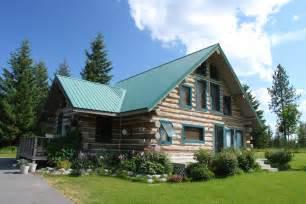 large log cabin homes