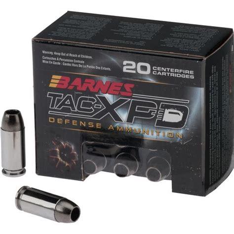 Barnes Tac Xpd 40 Review academy barnes 174 tac xpd 40 s w 140 grain centerfire pistol defense ammunition