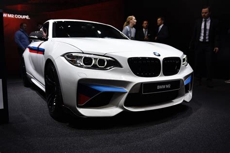 perfomance bmw geneva 2016 bmw m2 with bmw m performance parts gtspirit