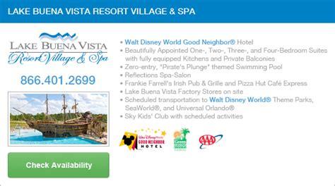 Spa Description by Visit Orlando Lake Buena Vista Resort Spa
