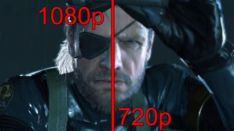 pubg 720p vs 1080p metal gear solid v 1080p vs 720p screenshot comparison