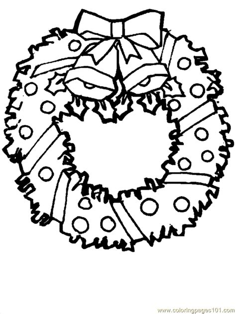 free printable christmas coloring pages online coloring pages christmas wreaths 4 cartoons gt christmas