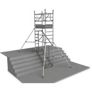 location echafaudage aluminium d escalier 6 m 1 plateau