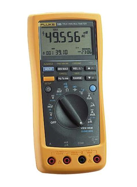 Multimeter Fluke 189 fluke 189 true rms multimeter from cole parmer