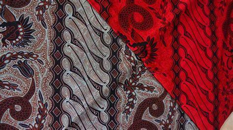 jenis kain batik modern tradisional  indonesia