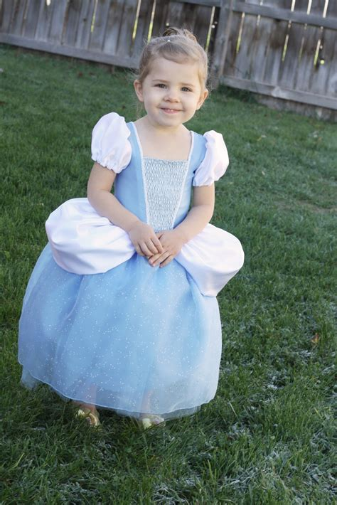 Handmade Princess Costumes - cinderella princess dress free costume pattern and