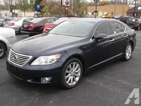2011 Lexus Ls 460 For Sale 2011 Lexus Ls 460 Base Grand Rapids Mi For Sale In