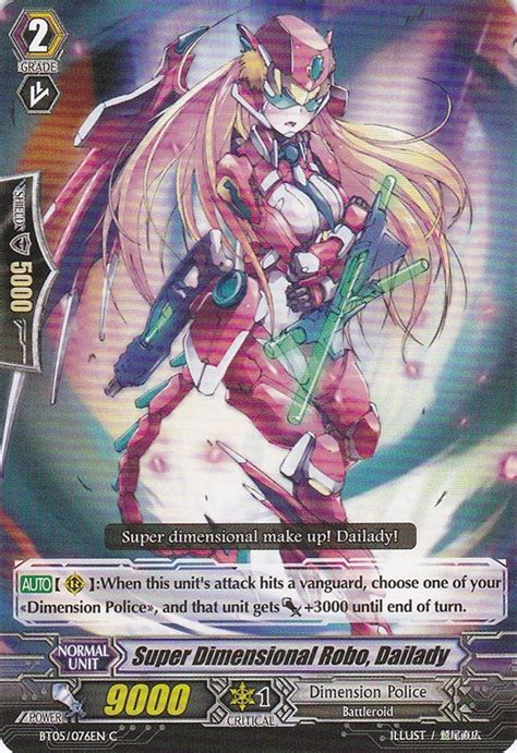 Cardfight Vanguard Singles Dimensional Robo Daihawk dimensional robot dailady dimensional brave