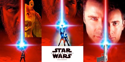star wars the last jedi opening night fan event star wars 8 poster photoshopped by fans screen rant