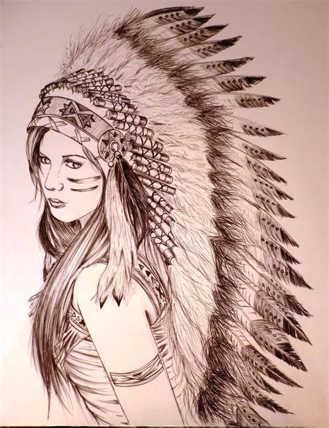indian woman tattoo 52 indian chief tattoos