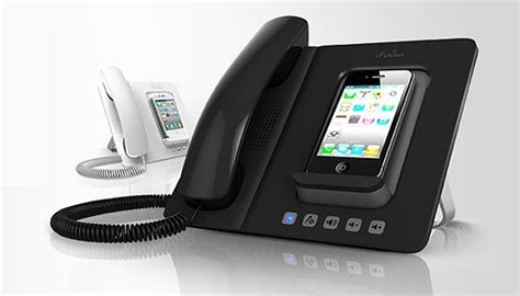 Home Office Phone by Turn Your Iphone Into A Sleek Home Office Fixed Line Phone