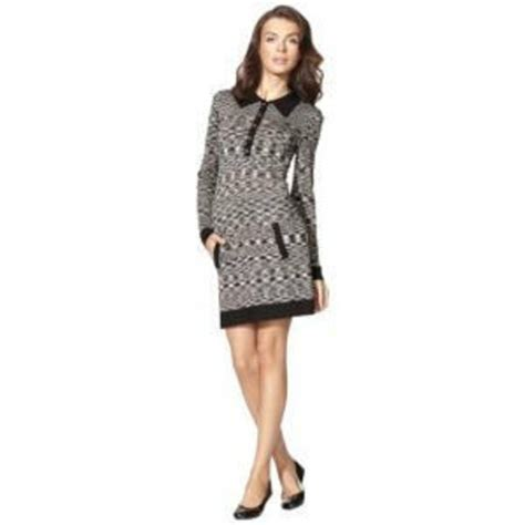 What Does Target Look For In A Background Check Missoni For Target L Dress Space Dye Knit Polo Shirtdress Black Gray White Dresses