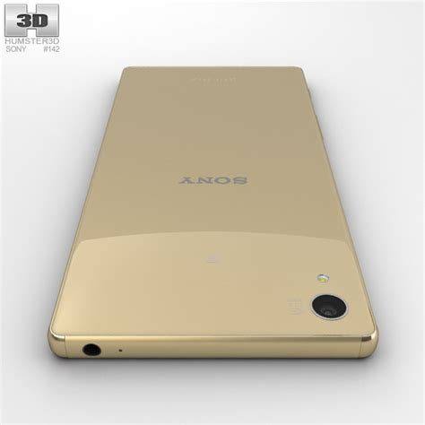 Hp Sony Xperia Z5 Gold sony xperia z5 gold 3d model hum3d