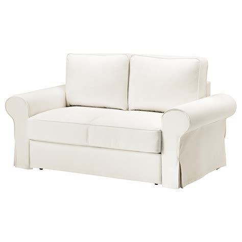 ikea sofa white backabro two seat sofa bed hylte white ikea