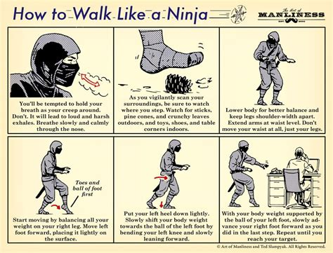 shuriken manual books how to walk like a an illustrated guide the
