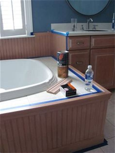 Wainscoting Around Tub by 1000 Images About Favorite Places Spaces On