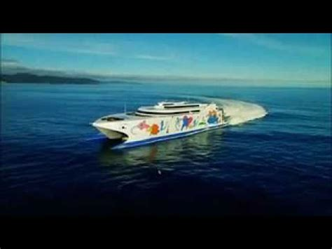 largest catamaran ferry incat giant high speed catamaran ferry natchan rera of