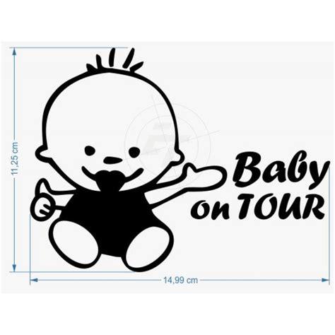 Aufkleber Baby On Tour by Baby On Tour Aufkleber Sticker Und Folien F 252 R Auto Boot