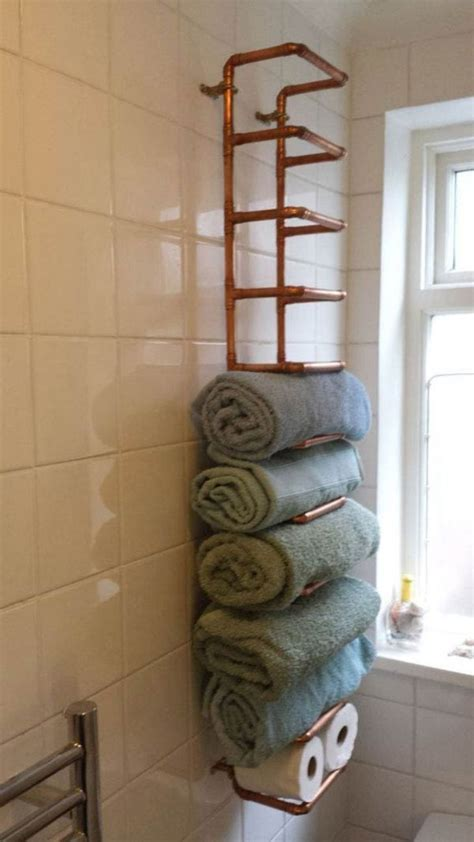 diy bathroom storage ideas best 25 towel storage ideas on bathroom towel
