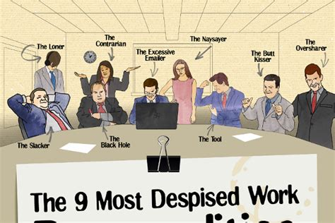 Top 7 Bad Type Of Employers by The 9 Worst Work Personalities Brandongaille