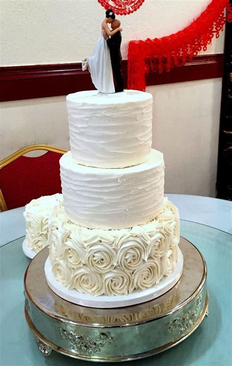 Rosette cake, Texture and Ribbons on Pinterest