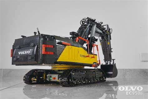 Country Home Plans moc fully rc volvo ec950el excavator lego technic