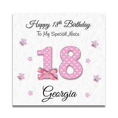 Granddaughter 16th Birthday Cards Handmade Personalised Ladies Daughter Granddaughter 16th