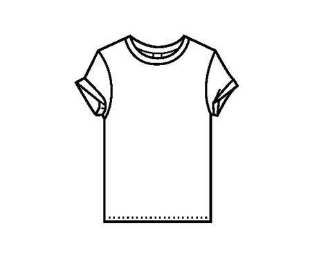 Coloring Page T Shirt Img 12295 Clipart Best Clipart Best Cool Shirt Coloring Pages