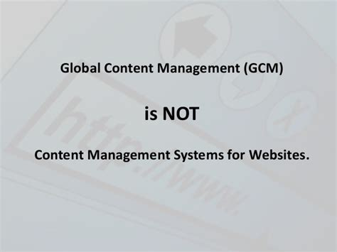 Define Global Mba by What Is Global Content Management