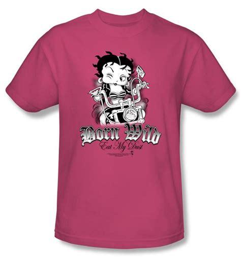Kaos Hoodie Betty Boop Pink betty boop t shirt born pink betty boop shirts