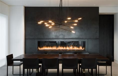 Electric Heat Fireplace by Chic Linear Fireplace Ideas Modern Fireplaces With Great