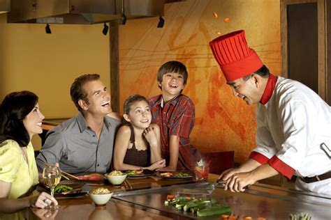 Sushi Japanese Steakhouse Teppanyaki Restaurant Benihana Chef S Table Benihana