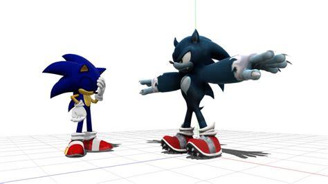 Blender National Sonic werehog wip by bluexblur on deviantart