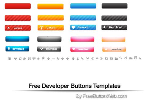 button templates free linux templates gallery exle resume ideas