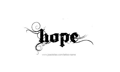 inspirational names for design image gallery name hope