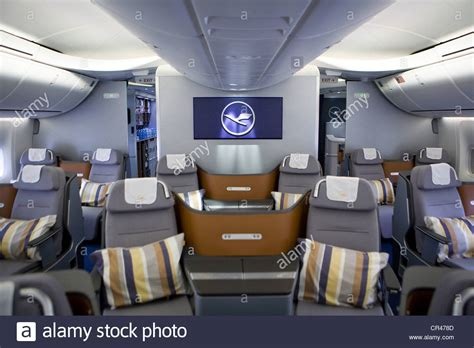 Html Section Class by The Business Class Section Of A Lufthansa Boeing 747 8