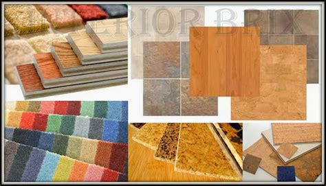 Types Of Flooring Materials Tips And Tricks Of Interior Designing Choose The Right Floor Material For Your Home
