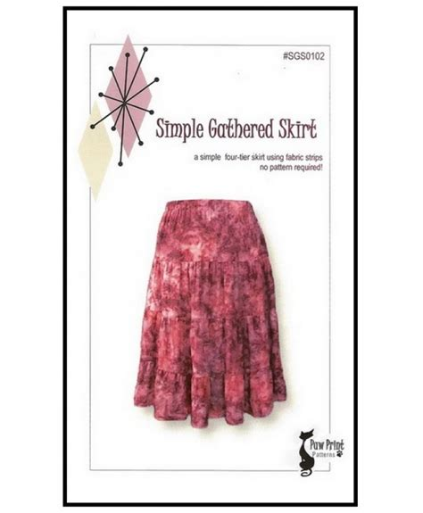 pattern for simple gathered skirt simple gathered skirt