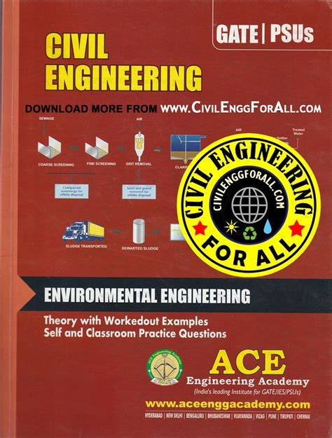 sanitary engineering books pdf gate material environmental engineering civil