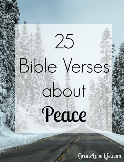 The Verses Of prince of peace 25 bible verses about peace grace
