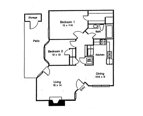 Waterford At The Park Carrollton Tx Apartment Finder 865 Sq Ft 2 Bhk