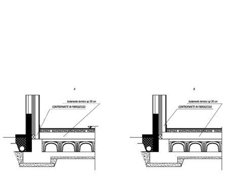 pavimento areato stratigrafia vespaio aerato con riscaldamento a pavimento