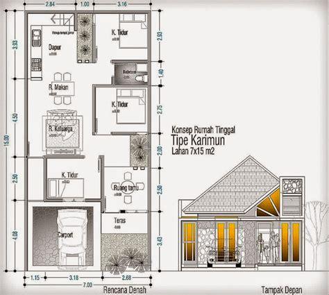 85 sketsa gambar rumah type 60 mewarnai desain rumah minimalis 2 lantai luas tanah 60m2 cari