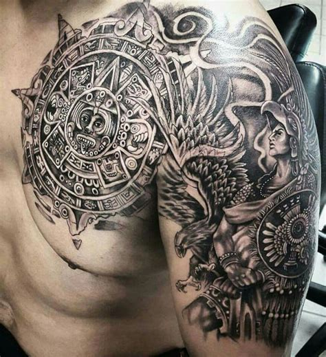25 best ideas about aztec warrior tattoo on pinterest